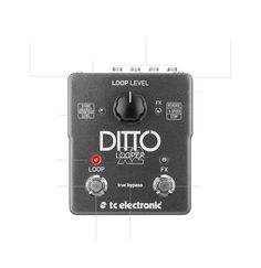 Ditto X2 Looper - Smash hit Ditto with added effects and 2-button UI | TC Electronic