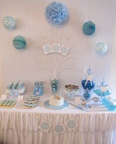 The beautiful lolly buffet for a beautiful little boy.