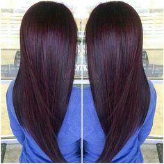 45 Best Burgundy Hair Images Haircolor Burgundy Hair Colorful Hair