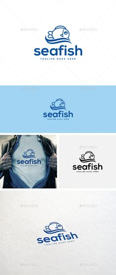Sea Fish Logo Template
