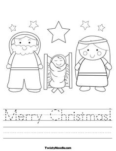 your merry christmas worksheet. Make full-page, custom handwriting worksheets in seconds! Kids love to practice handwriting and learn cursive with nativity worksheets. Be sure to view all of our christmas worksheets. We have tons of holiday worksheets. Preschool Christmas, Christmas Nativity, Christmas Activities, Christmas Crafts For Kids, Christmas Colors, Christmas Themes, Holiday Fun, Christmas Holidays, Merry Christmas