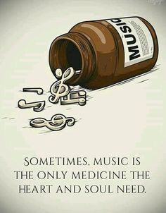 Music is the only medicine that the soul needs Music Quotes Deep, Live Quotes For Him, Music Wallpaper, Music Lyrics, Music Lovers, Music Is Life, True Quotes, Medicine, Inspirational Quotes