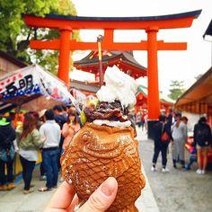 Taiyaki phiên bản cá tuyệt ngon của Nhật.