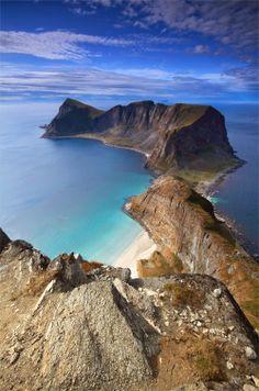 Mastadfjellet, Vaeroy Island, Norway