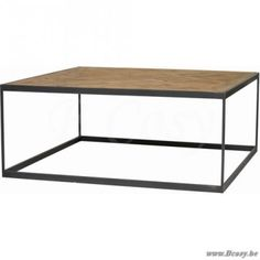 "Lifestyle94-Lifestyle Baltimore Coffee Table 100X100X38 <span style=""font-size: 6pt;""> Koffietafel-Salontafel-table-de-salon-table-basse-couchtisch </span>"