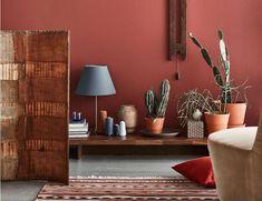 Färgen Terracotta V.s kaktusar DET är 2018 i ett trendigt nötskal!