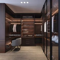 Your top 10 luxury walk-in closet ideas Walk In Closet Design, Bedroom Closet Design, Master Bedroom Closet, Home Room Design, Closet Designs, Home Interior Design, Dressing Room Closet, Dressing Room Design, Wardrobe Room