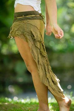 Beduinen-Skirt Böhmische Festival Zigeuner Pixie von AryaClothing