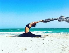 No matter where the wind blows its up to you which way you are looking at.. #yoga #quotes #passion #splits #beach #sea #and #sun