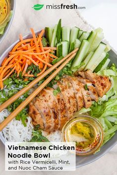 Asian Recipes, Healthy Recipes, Indonesian Recipes, Orange Recipes, Healthy Vietnamese Recipes, Vermicelli Recipes, Clean Eating, Healthy Eating, Asian Cooking