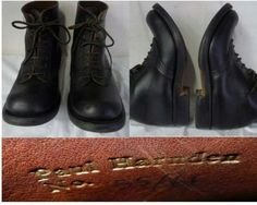 Paul Harnden, leather soled Shepherd / fell boot style.