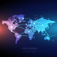 Illustration about Digital world map linked by lines connections network design vector. Illustration of hemisphere, futuristic, light - 102072284 Map Vector, Vector Free, Vector Icons, Coraline Art, Linkedin Background, Connection Network, Network World, World Map Design, Hacker Wallpaper