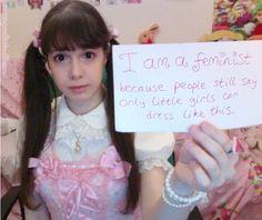 Princess Peachie - Feminist.
