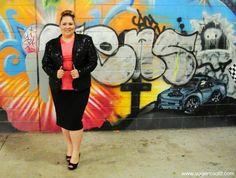 plus size sparkle jacket and peplum top, aussie curves, plus size fashion blog