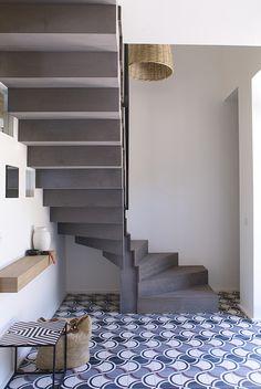 Carreau de ciment / Cement tiles Beauregard© N°6© Réalisation Atelier Delphine Carrère