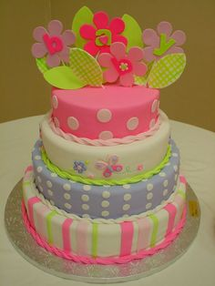 baby shower cakes for girls | New Beauty News: baby shower cakes for a girl