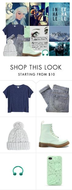 """""""When you can't sleep at night"""" by mara-847 ❤ liked on Polyvore featuring ADAM, Monki, Marc by Marc Jacobs, MANGO, Dr. Martens and With Love From CA"""