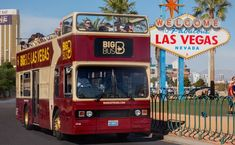 The Big Bus hop-on hop-off bus tour of the Las Vegas Strip and downtown is the most convenient way to see all the sights of Sin City.
