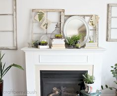 Going to have to take another look at my mantle to see what I can do to make it look something like this