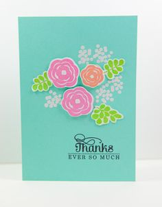 mama elephant   design blog: STAMP HIGHLIGHT: WATER BLOOMS