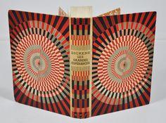 Charles Dickens, Les grandes espérances, cartonnage Gallimard, d'après une maquette de Mario Prassinos. Librairie L'Autre sommeil - Bécherel, cité du livre.