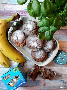 Bananowe babeczki z cynamonem – babeczki dla dzieci | Słodkie okruszki Stuffed Mushrooms, Vegetables, Food, Meal, Essen, Vegetable Recipes, Hoods, Meals, Stuff Mushrooms