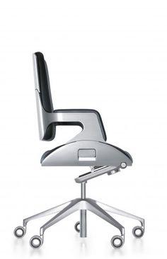Interstuhl Silver Office Furniture Chair