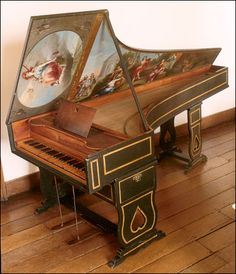 Harpsichord by Joachim Antunes 1785, Portugal (Finchcocks Musical Museum)
