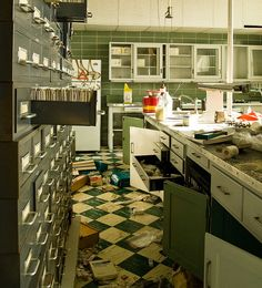Abandoned Chicago Hospital by jordannicolette, via Flickr