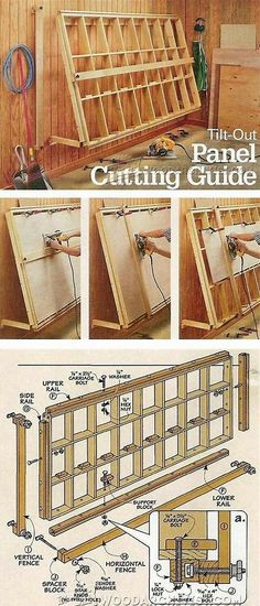 Resultado de imagen de Panel Saw Woodworking Plan