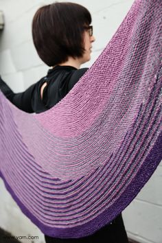 Lessons Learned when making the Color Affection Shawl >> via WEBS Yarns Store Blog