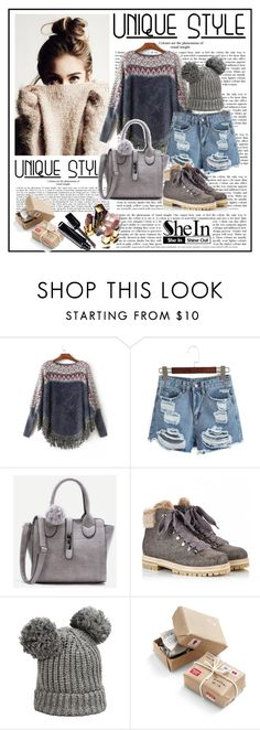 """""""Shein 7/XIII"""" by merima-p ❤ liked on Polyvore featuring Attilio Giusti Leombruni, Karl Lagerfeld, Chronicle Books and Chanel"""