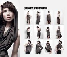 Платье-трансформер Emami | Multiwear: как это сшить - выкройка | Где купить