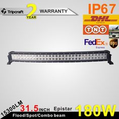 147.96$  Buy here - 31.5inch 120W NEW waterproof double rows curved LED light bar Offroad  for Truck SUV Tractor Boat  12V 24V led car  #buymethat