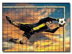My favorite position in soccer is goalie.  It has elements of both soccer and football which I love, and is not a position many people choose to play.
