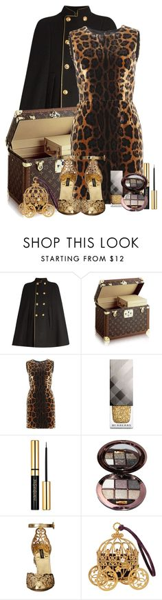 """""""GlowNight☆ ✮"""" by rgo1 ❤ liked on Polyvore featuring beauty, Yves Saint Laurent, Dolce&Gabbana and Burberry"""