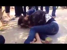 khmer girl test fighting