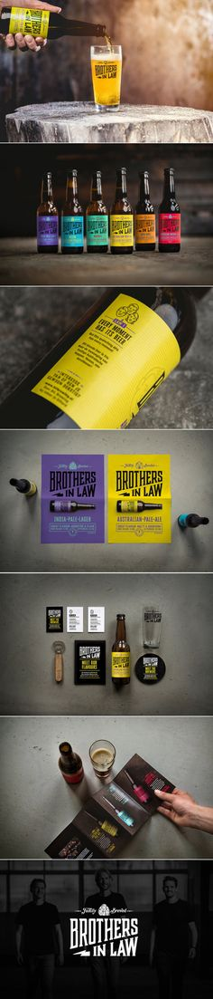 What Happens When Three Brothers Decide To Start A Brewery? — The Dieline | Packaging & Branding Design & Innovation News
