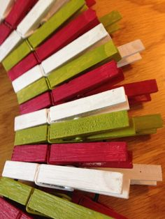 DIY Holiday Clothespin Wreath | The Home Depot Community