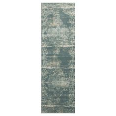 "Slate Abstract Loomed Runner - (2'2"" x 6'11"") - Kas Rugs, Gray"