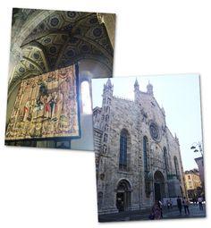 Na Catedral de Como  (Foto: Juana Ferreira)