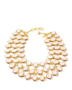 Amrita Singh Two-Tone Resin Reversible Cassia Necklace at Modnique.com