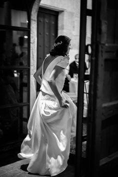 Vestido Miriam Gálvez.La boda de Somos Bonjour © LIVEN Photography