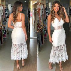 "Pretty dress/ (@rfroupaseacessorios) on Instagram: ""459,9 P M (branco e bordo) vendas pelo site www.rfraissafernandes.com.br ou whatsapp…"" White Dress, Fashion Outfits, Instagram, Dresses, Cool Outfits, Dress Wedding, Dress Long, Engagement, Shoes"