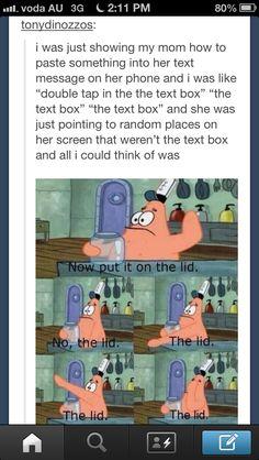 Spongebob relates to everything.