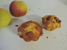 muffin pommes et spéculoos, un délice inattendu!