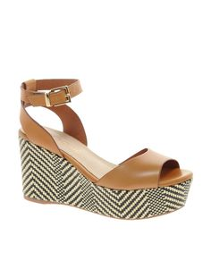 ALDO Taipa Platform Wedge Sandals