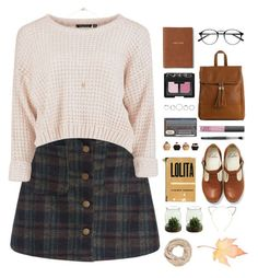 fall. by nut-and-nude on Polyvore featuring Emperia, Cara, maurices, NARS Cosmetics, ASOS and Monica Rich Kosann