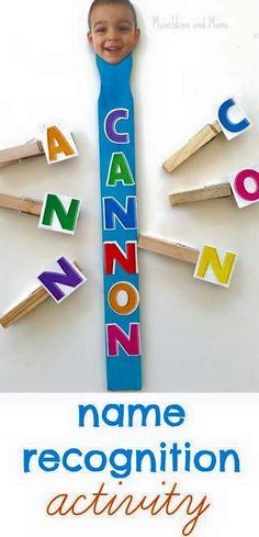 Conhecendo as letras do nome