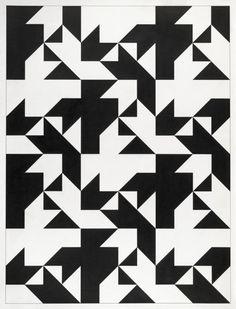 Tauba Auerbach - But does it float? Graphic Patterns, Geometric Patterns, Geometric Designs, Geometric Shapes, Print Patterns, Graphic Design, Pattern Art, Abstract Pattern, Pattern Design